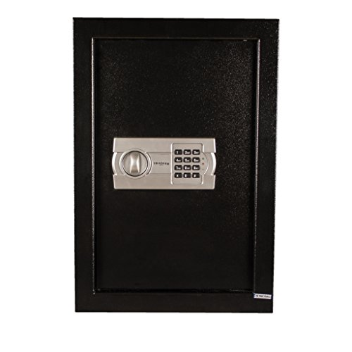 Tracker Safe WS211404-E Steel Wall Safe, Electronic Lock, Black Powder Coat Paint, 0.60 cu. ft. by Tracker Safe (Image #6)