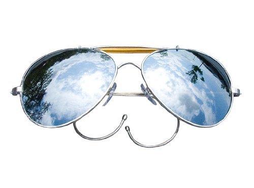 619aae0462 Mirror Lenses - US Air Force Style Aviator Sunglasses