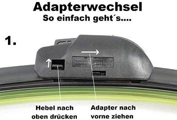 Hcl Scheibenwischer Set Satz Premium Für Skoda Citigo Auto