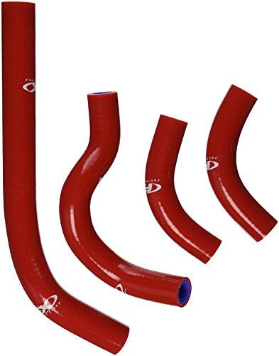 Factory Effex (14-34330) Red Moto Engine Hose Kit (Factory Effex Engine Hose)