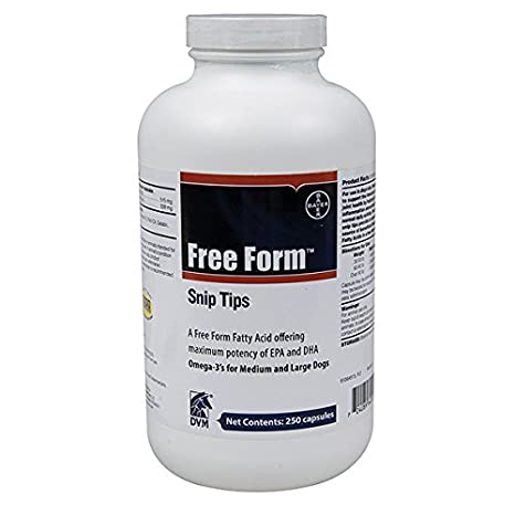 free form snip tips  Bayer Free Form Snip Tip Nutritional Supplements for Dogs ...