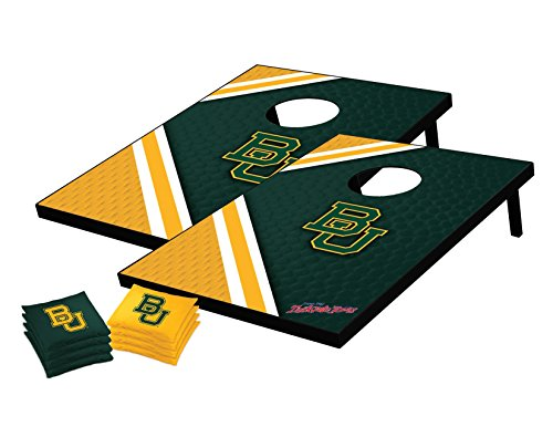 Bears Tailgate Toss (NCAA College Baylor Bears Tailgate Toss Bean Bag Game Set, One Size, Multicolor)