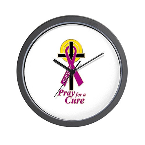 CafePress - Faith & Awareness Wall Clock - Unique Decorative 10'' Wall Clock by CafePress