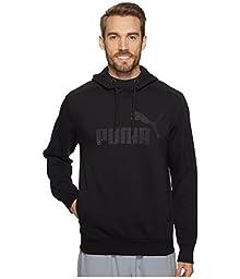 PUMA Men\'s P48 Core Hoodie Fleece, Cotton Black, X-Small