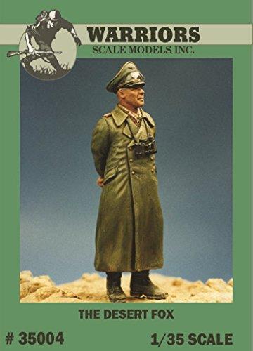 Warriors 1:35 The Desert Fox Rommel Resin Figure Kit #35004