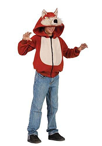 Wild Red Fox Hoodie (As Show;Child - Kids Sweatshirt Fox