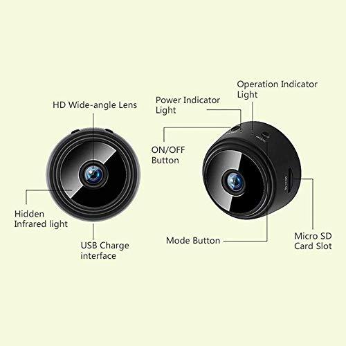 A9 Mini Camera Full HD 1080P IR Night Vision DVR Wireless IP P2P WiFi Micro Camera Motion Sensor Small Cam Video Recorder