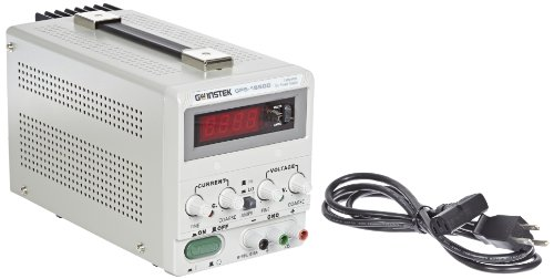 Instek GPS-1850D 90W Single-Output Linear DC Power Supply with Digital LED screen, 18V DC, 5 Amp