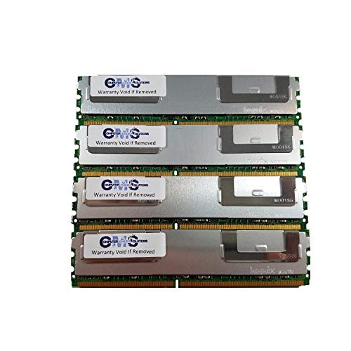(16Gb 4X4Gb Ram Memory Compatible with Intel Server S5000Pal, S5000Palr, S5000Psl, S5000Pslr For Servers Only By CMS (B104))