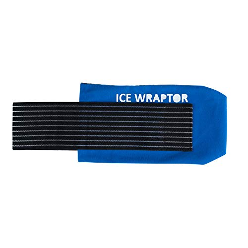 "Ice Wraptor, Cold Therapy and Compression, Pain Relief from Sore Muscles, for Ice Packs (5"" x 10"") ICE Pack NOT Included ()"