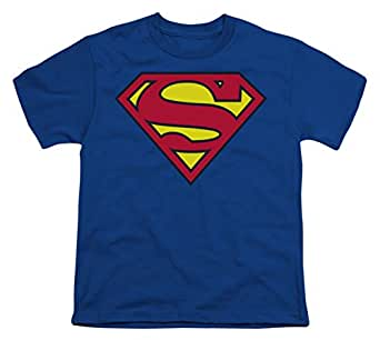Superman Classic Shield Youth T-Shirt, Youth X-Small