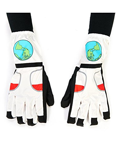 Dream Weavers Costumers White Astronaut Child Dress Up Dress Up Gloves Astronaut Space Gloves