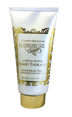 Camille Beckman Platinume Gold Imperial Repair Hand Therapy 6 oz - Lemongrass Vert & Sparkling Grapefruit Scent by Camille Beckman