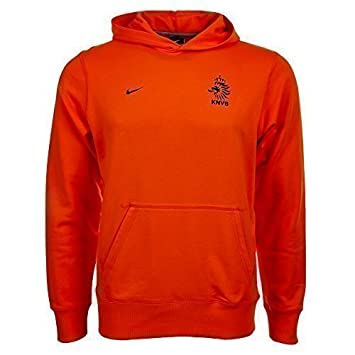 Nike 481887-815 - Sudadera de la selección Holandesa para niño (con Capucha) Naranja Naranja Talla:152-158 | L: Amazon.es: Deportes y aire libre