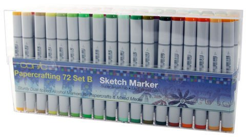 Copic Sketch Set of 72 Papercrafting Markers - SET B by Copic Marker