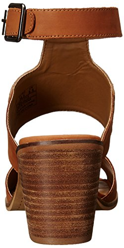 Dagger Brooklyn Women Cognac Toast Kelsi Heeled Sandal Kary U1q4TOnT