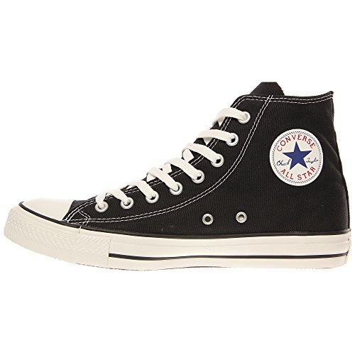 Converse Chuck Taylor All Star Hi, Zapatillas de tela unisex Nero