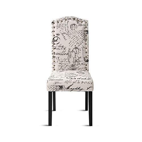 (HUIJUNWENTI Dining Chair, Table Cloth Heart Chair, Solid Wood Leg Chair, 2 Solid Wood Leg Chairs, (Color : Gray))