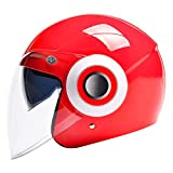 Motorcycle Helmet Men's and Women's Four Seasons Universal Winter Warm Anti-Fog Half-Covered Helmet