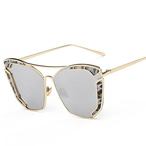FREGG Gafas De De Clásica Framemercury Popular Sol De De Creativas BlackBoxBlackGray Las Nueva Moda Gafas La Personalidad Tendencia Las La De Sol wPq8AwY