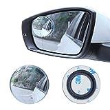 """LivTee Blind Spot Mirror, 2"""" Round HD Glass"""
