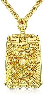 BF-Per uomo Vintage Collana/Collana di fascino - Placcato in oro Alla moda, Asiatico, Lusso Oro 61 cm Collana 1pc Per Matrimonio, Party/serata
