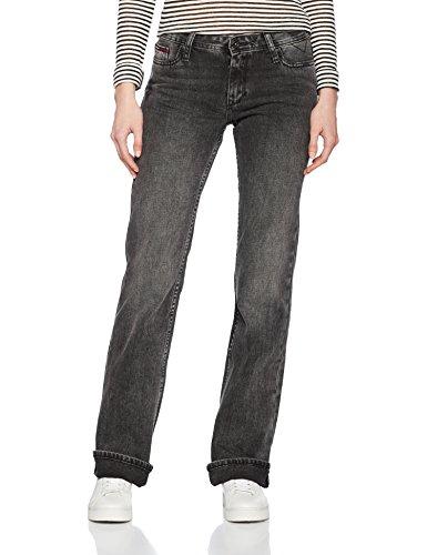 Hilfiger Denim Mid Rise Boot Sandy Spbl, Jeans Mujer Negro (Splash Black)