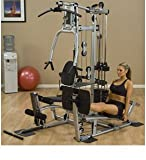 Cheap Powerline Home Gym with Leg Press, Grey/Black
