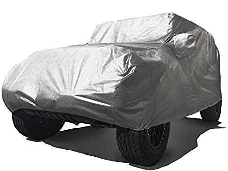 CarsCover Custom Fit 2004-2018 Jeep Wrangler Unlimited 4 Door SUV Car Cover Heavy Duty All Weather Ultrashield Black 709870730719