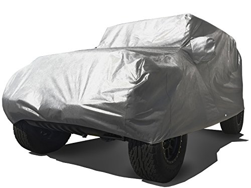 Xtrashield Custom Fit 2007-2019 Jeep Wrangler JK JL 2 Door SUV Black Car Cover