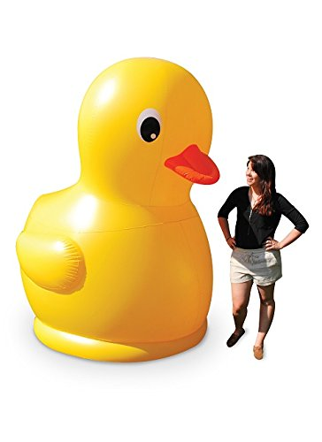 BigMouth Inc Gigantic Inflatable Rubber Ducky