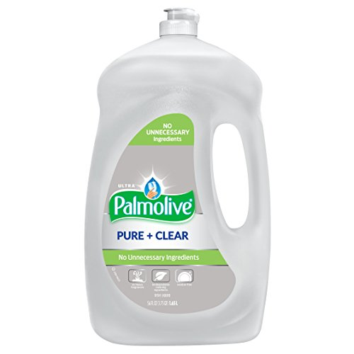 Liquid Dishwashing Clear Natural - Palmolive Ultra Liquid Dish Soap, Pure and Clear - 56 Fluid Ounce