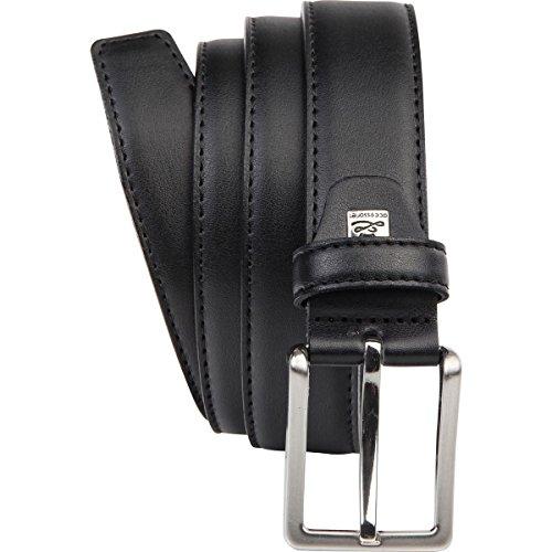 Buena 1A! LINDENMANN - Cinturón - para hombre negro negro 90 - www ... 4144f0ae976