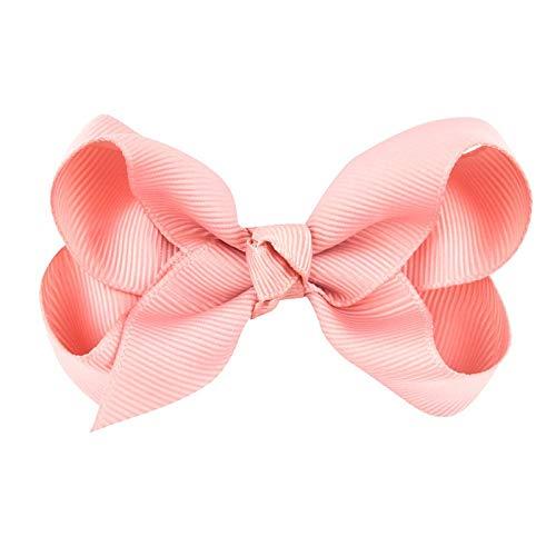 3inch 1 Pc Newborn Girl Ribbon S Clips Pin Girl's S Boutiqueclip Headware Kidsaccessories ()