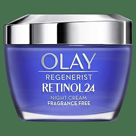 Olay Regenerist Crema Facial De Día y Olay Retinol 24 Crema Hidratante De Noche Con Retinol, Pack x 2 Uds, 24H De Hidratación, 100 ml