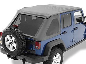 bestop 56823 35 black diamond trektop nx complete frameless replacement soft top with with sunrider sunroof feature