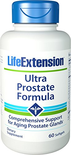 Life Extension Ultra Prostate Formula, 60 Softgels (The Best Prostate Formula)