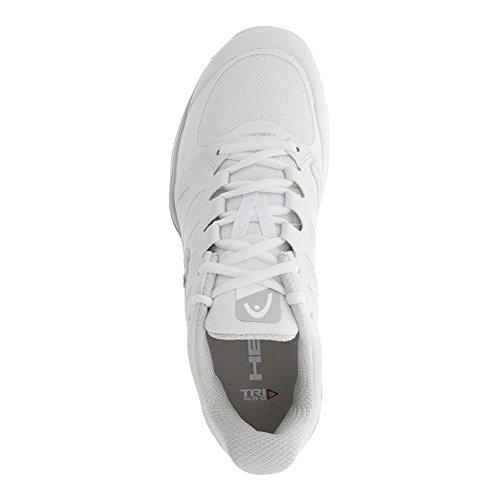 37 Damen Tennisschuhe Allcourtschuh Pro Weiß Silber HEAD 0 2 Sprint 1Hfnfwx6