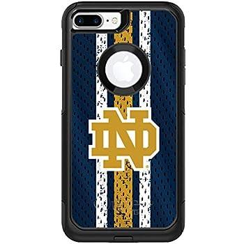 new style 5e3a1 a4b15 Amazon.com: Notre Dame Jersey Design on Black OtterBox Commuter Case ...