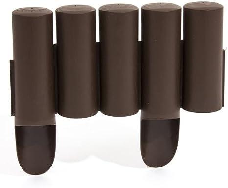 Prosper Plast ipalplus-r222 235 x 25 cm jardín Palisade – marrón ...