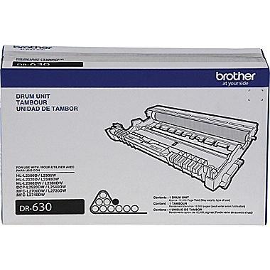 Bulk DR630 Brother Compatible Laser Drum Unit, Black Ink: CBDR630 (3 Laser Drum Units)