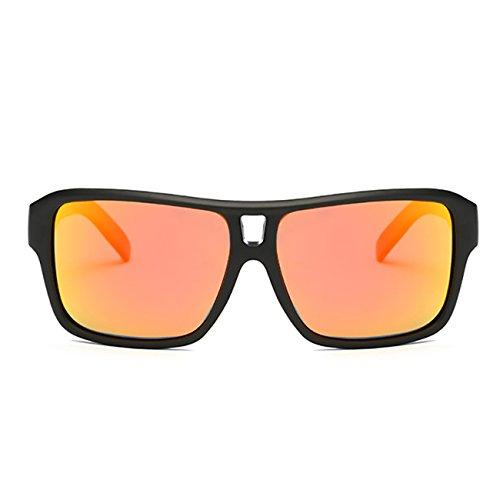 Mujer Gafas sol de Moda Deportes Rojo Hombre JULI D008 Polarizadas wtT6qcc0