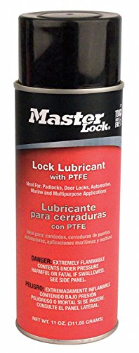 Lock Lubricant, Aerosol Can, 11 oz.