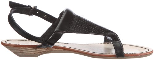 Yael Negro F7re0098 Sandalias Sandal Mexx Para Toestrap black schwarz Mujer De Vestir Cuero FRqORgWw