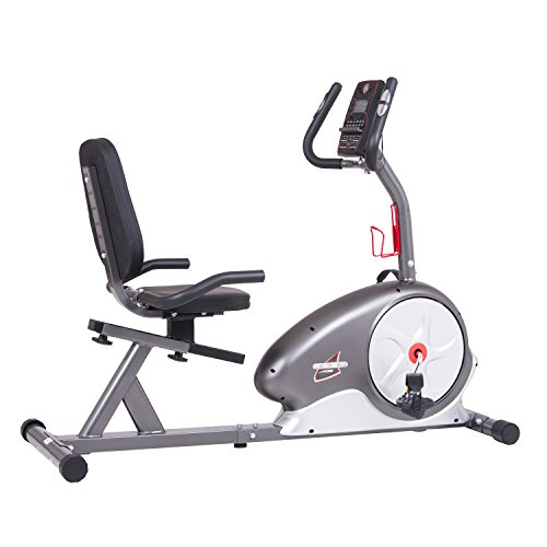 Body Champ New & Updated Magnetic Recumbent Bike BRB5688