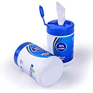 Cleaning Wipes, Wipes - 60 pcs 75% ALC Disposable Wipes Adult Wipes, Hand Wipes, Skin Toys Wipes, Cotton Pieces Cleaning Wipes for Adults Daily (1 Packs)
