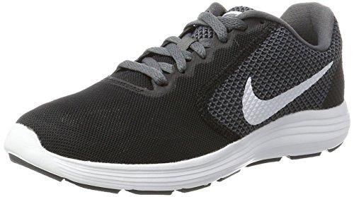 Nike Mens Revolution 2 Scarpa Da Corsa Nero / Bianco / Grigio Scuro / Antracite