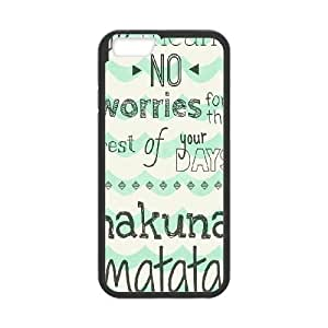 Hakuna Matata iPhone 6 4.7 Inch Cell Phone Case BlackW4520824
