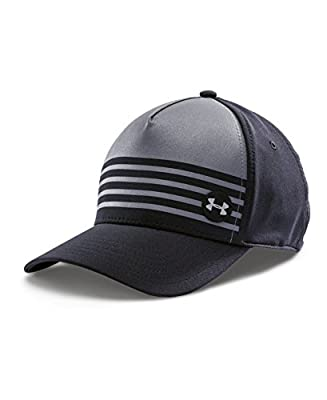 Under Armour Men's Striped Out Low Crown Stretch Fit Cap by Under Armour Accessories