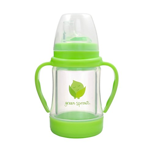 (Green Sprouts Glass Sip & Straw Cup,4 Ounce)